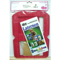 Laternen Bastelpackung -  rot SB