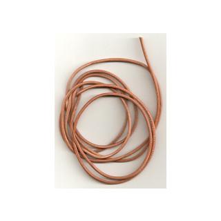 Lederband Ziege D= 1,5 mm L 1 m natur