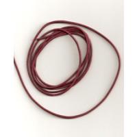 Lederband Ziege D= 1,5 mm L 1 m fuchsia
