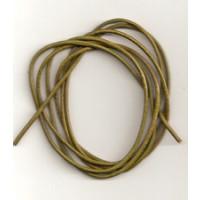 Lederband Ziege D= 1,5 mm L 1 m oliv