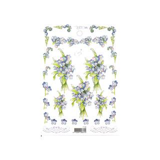 3D Bogen Le Suh A5, Veilchen