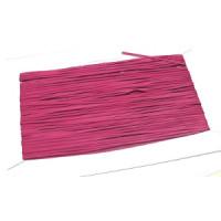 Glattleder Imitat Band flach 3 mm pink