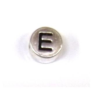 """Metall-Perle """"E"""""""