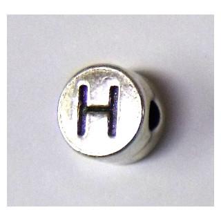 "Metall-Perle ""H"""