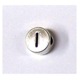 """Metall-Perle """"I"""""""