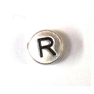 "Metall-Perle ""R"""
