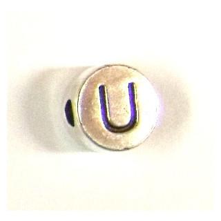 """Metall-Perle """"U"""""""