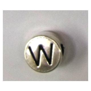 "Metall-Perle ""W"""