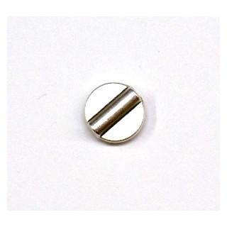 Metall-Zierelement, 12 mm, ø 1 mm, altsilber