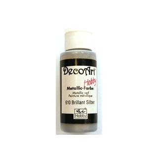 Metallic Farbe brill. silber 59 ml