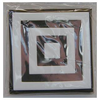Moosgummi Stempel 10x10  quadrat