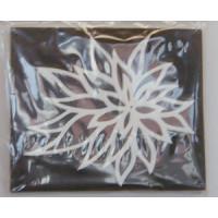 Moosgummi Stempel 19x16  Blume