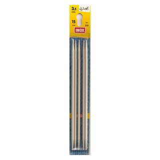 Nadelspiel Nr. 3,5 Metall 15cm lang / PG O