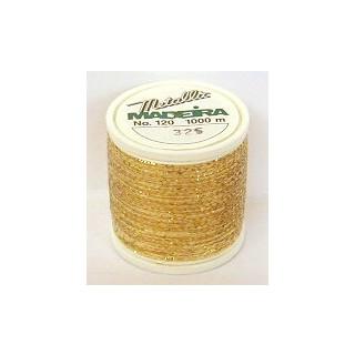 Maderia Metallicgarn Nr. 120 gold-325