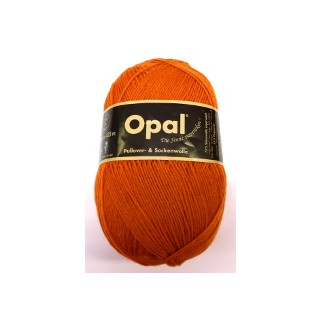 Opal Uni Socken- und Pulloverwolle orange fb. 3074