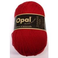 Opal Uni Socken- und Pulloverwolle rot fb. 3078