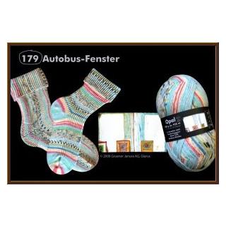 Opal Hundertwasser Autobus - Fenster fb. 2101
