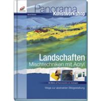 Landschaften. Mischtechnik mit Acryl, Bernd Klimmer