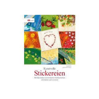 Kunstvolle Stickereien, Jutta Erner, Christa Rolf (Hrsg.)