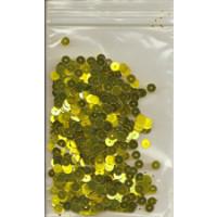 Pailetten gelbgold 6g/5 mm SB