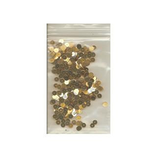 Pailetten gold 6g/5 mm SB
