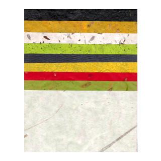 Rainbow-Papier Sortiment 9 Farben