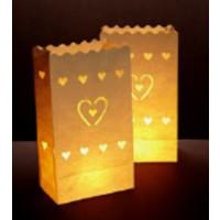 Luminara- Lichtertüte, Herz groß