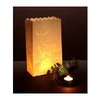 Luminara- Lichtertüte, Rentier groß