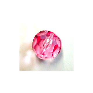 Schliffperle Kunststoff 18mm rosa 1 Stck.