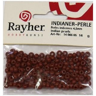 Indianer-Perle 16g 4,5mm fb. 05 braun