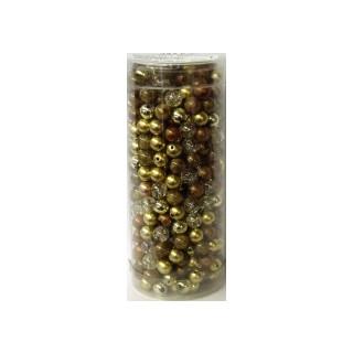 Perlenmix 8mm gold 480 Stck.