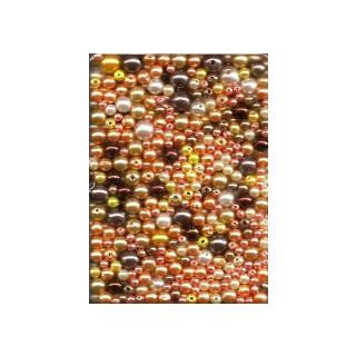 Wachsperlen Mix 60g SB braun ton