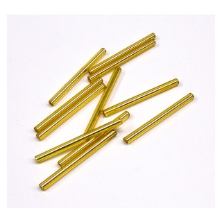 Glasstifte 30mm 10 g SB gold