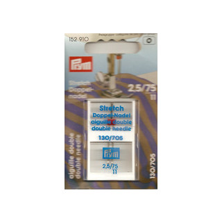 Nähmaschinennadeln Stretch Doppelnadel  2,5/75  /SB