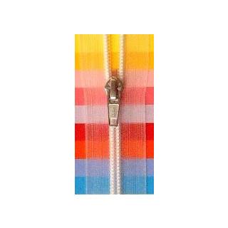 Kunststoff-Reißverschluß teilbar 60 cm transp.