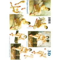 3D Bogen Le Suh A4, Tänzerin