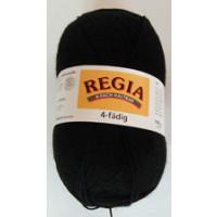 Regia 4fach fb. 02066 / 100g schwarz