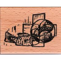Brote und Fisch