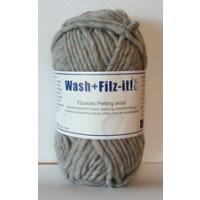 Wash+Filz-it Filzwolle fb. 21 steel 50g