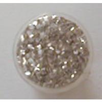 Grobflitter silber 8 mm
