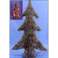Reben-Baum + Lichtergirlande x20 H60cm