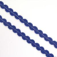 Zackenlitze 5 mm blau