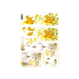 3D Bogen Le Suh A4, Waldtiere