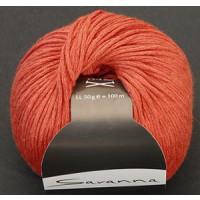Savanna BW/Leinen 50g fb. 35 orange
