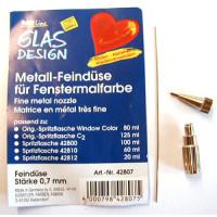 Metall-Feindüse  0,7mm