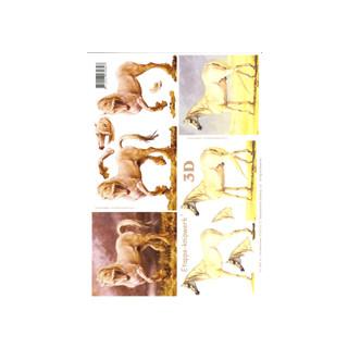 3D Bogen Le Suh A4, Pferde
