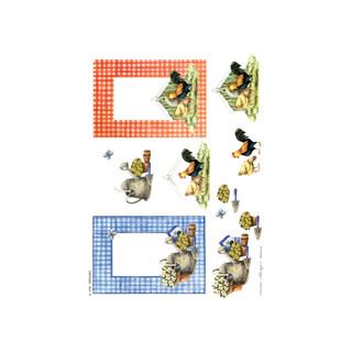 3D Bogen Le Suh A4, Landleben