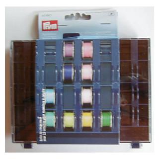Spulendose für 32 Nähmaschinenspulen leer