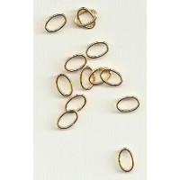 Ringel gold -7x4,5x0,7 mm oval