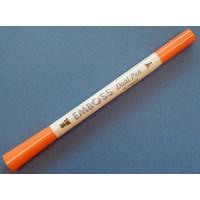 Emboss - Dual - Pen 2-seitig orange